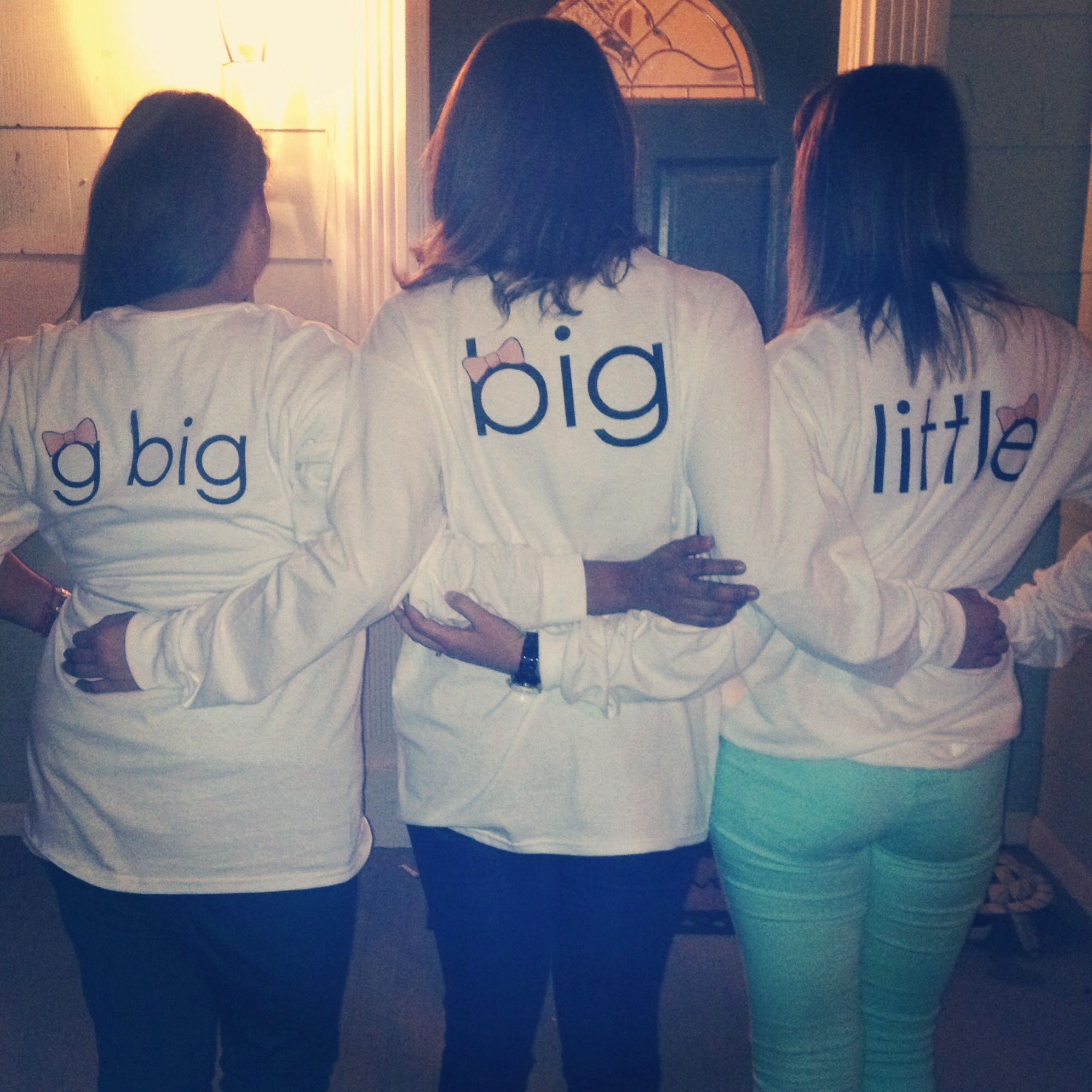 Grand big, big, little shirts for fall 2013 big sister reveal ☀️ #sunshinefamily #dzlam #winthropunivesity