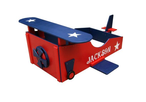 Toddler Bed Frame Airplane Theme By Sonoran Sandman On Etsy 34999