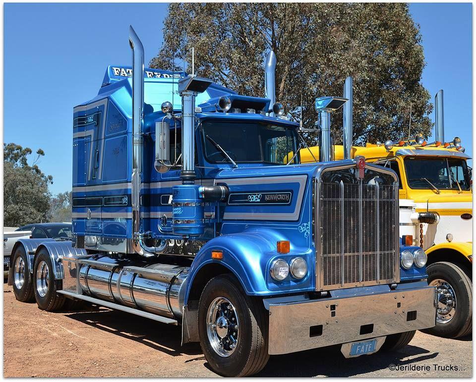 Jerilderie Trucks Big rig trucks, Big trucks, Kenworth