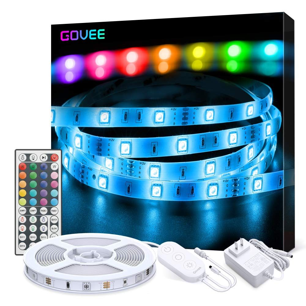 Led Strip Lights Govee 16 4ft Rgb Color Changing Light Strip Kit