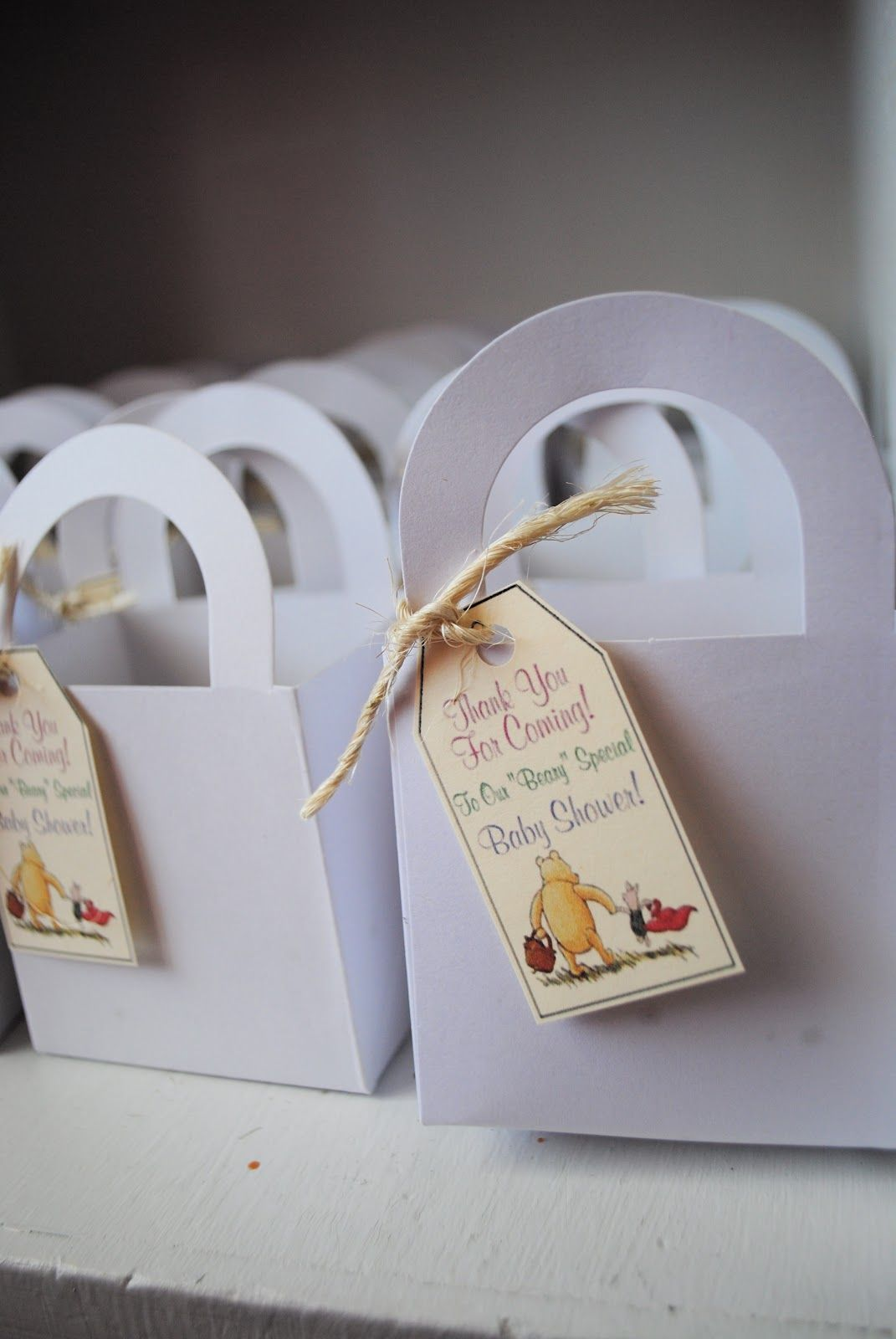Craft Envy: Classic Winnie The Pooh Baby Shower