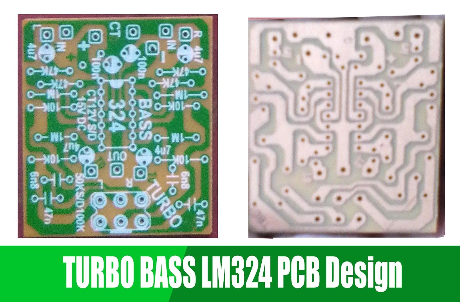 Turbo Bass With Ic Lm324 Hubby Project Pinterest Circuit Diagram Pcb