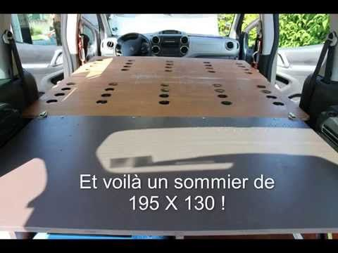 Camping Box Pour Partner Tepee Youtube Amenagement Camping Car Boite De Camping Voiture Break