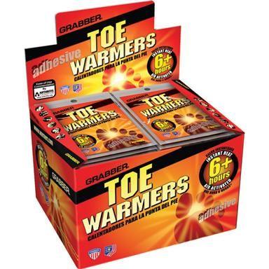 Grabber® Toe Warmers, 80 - Pk.