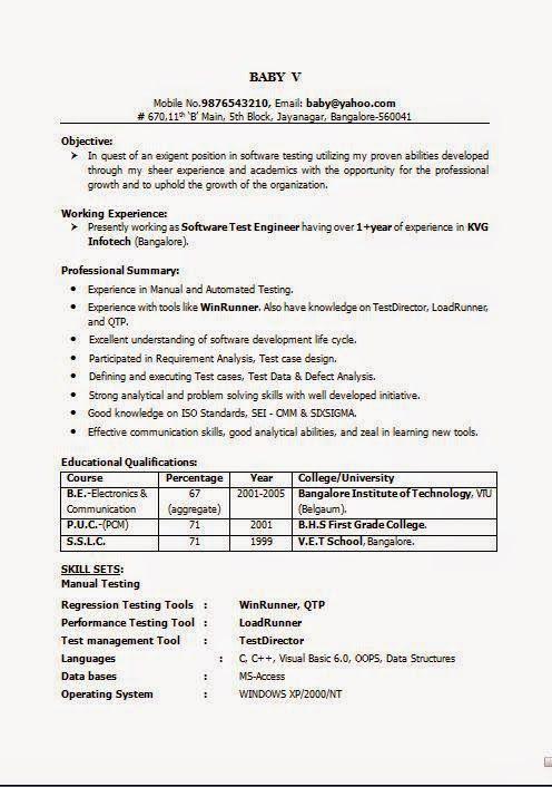 free biodata format Excellent CV / Resume / Curriculum Vitae with ...
