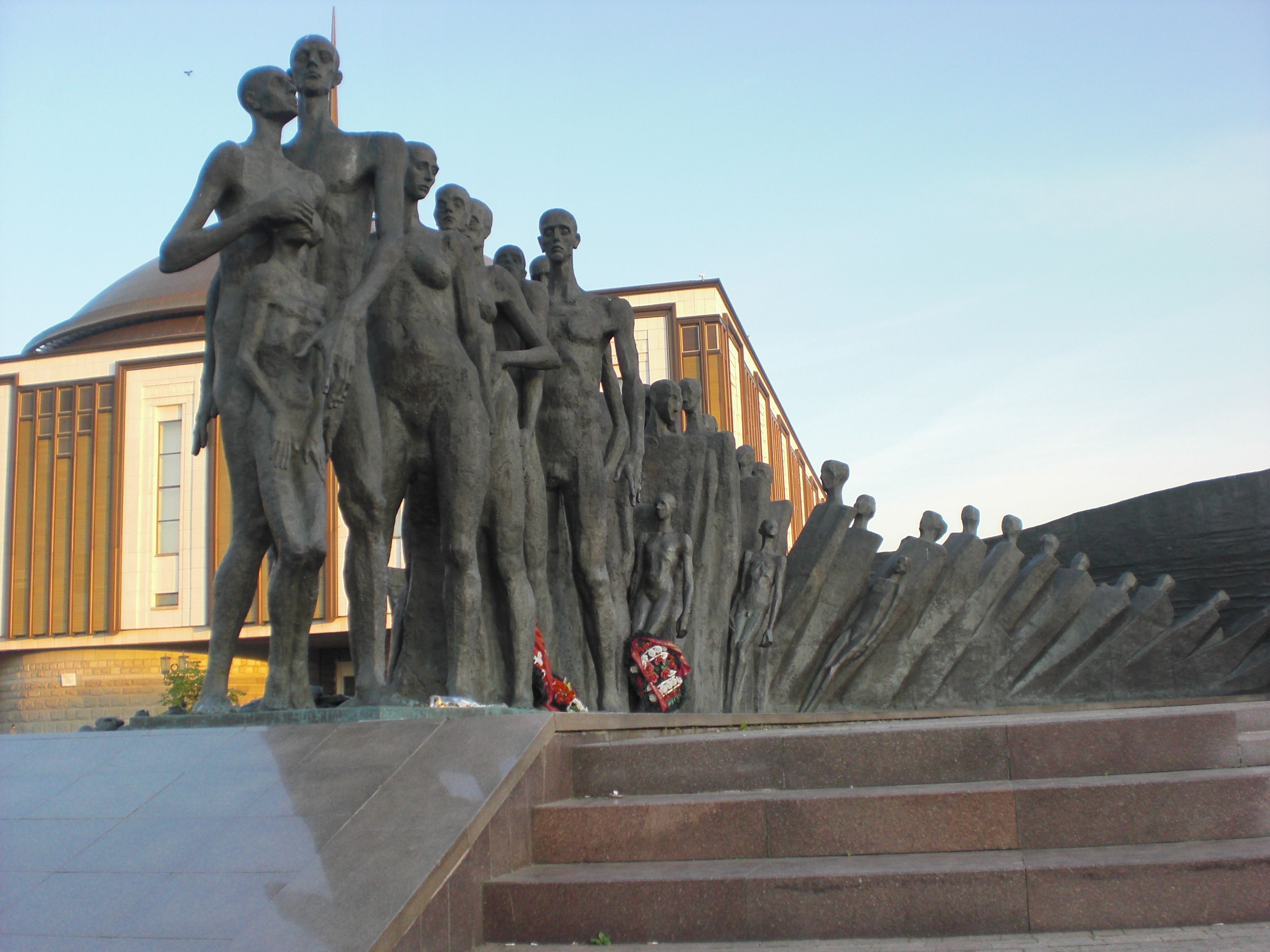 Victory Park Moscow Russia The statues depict