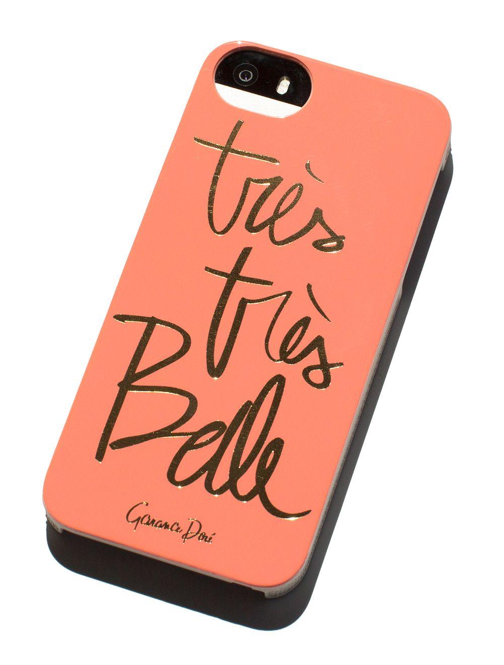 Très Très Belle iPhone Case   Coque de portable, Iphone, Garance doré