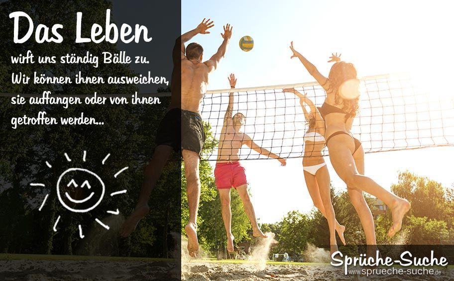 lebensweisheiten spr che volleyball volleyball. Black Bedroom Furniture Sets. Home Design Ideas