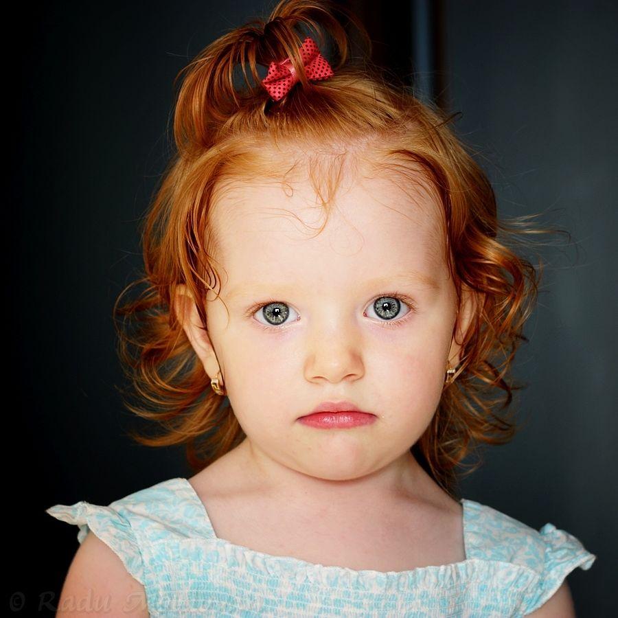 Innocent Look Rotes Haar Haarige Rot