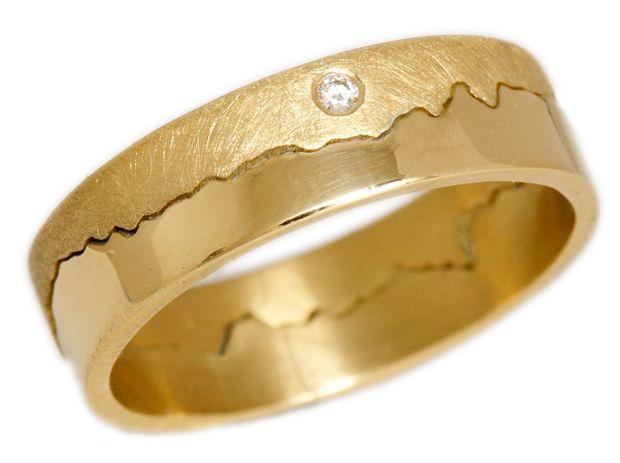 Trending Damson Coastline Rings A Contemporary Wedding Ring For The Design Lover OMG I U