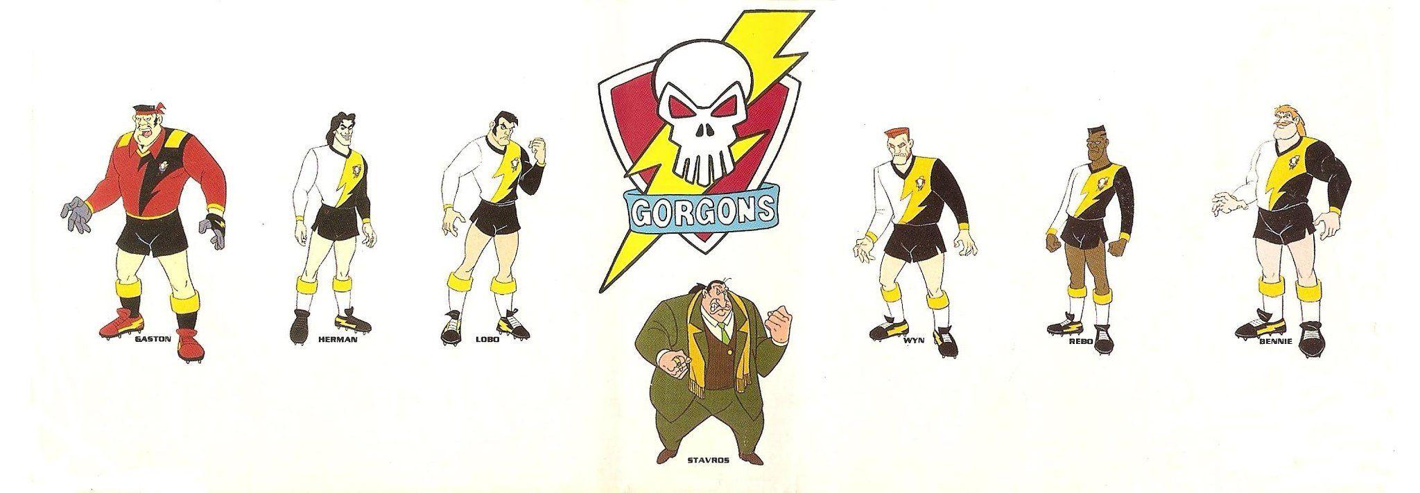 Twink football team cartoon
