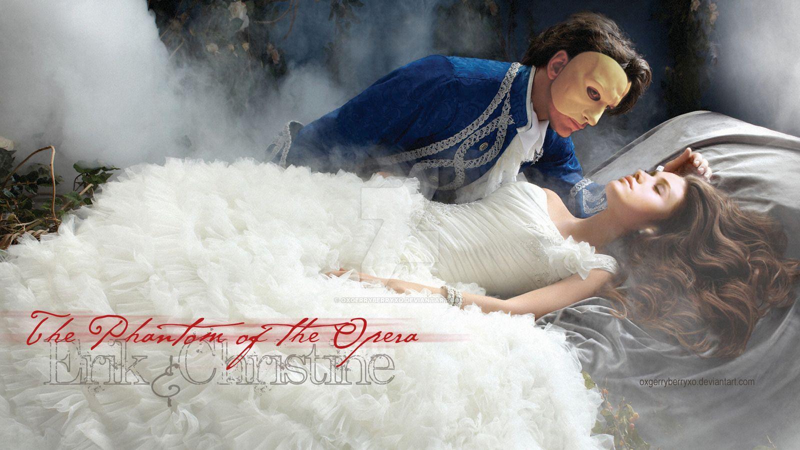 Sleep, my angel by oXGeRRyBeRRyXo | phantom of the opera | Pinterest ...