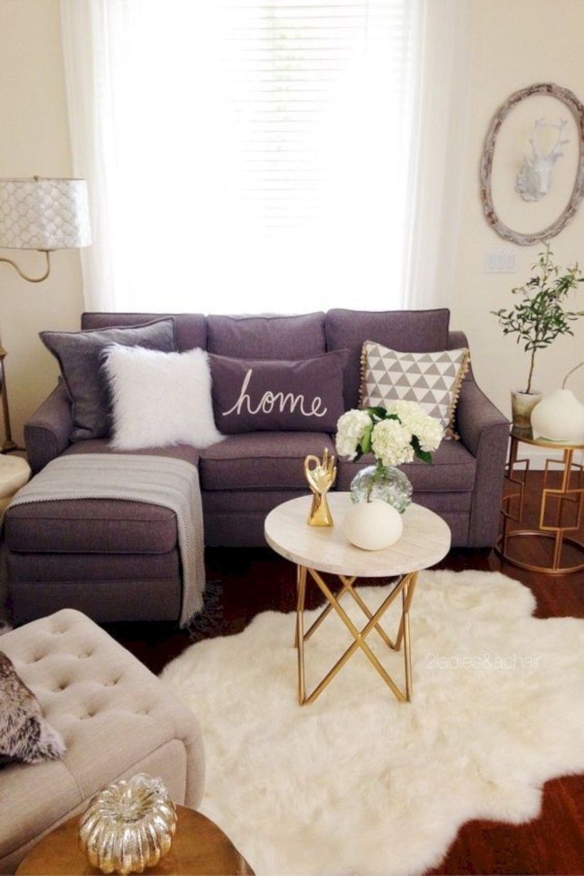 Cozy Small Living Room Decor Ideas For Your Apartment 16