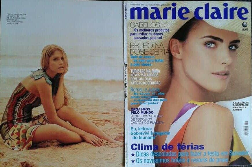 Marie Claire magazine 2005