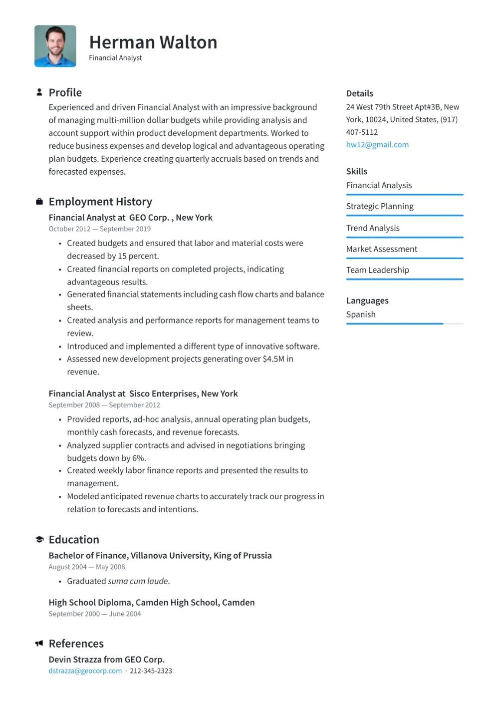 Create Resume Free Pdf