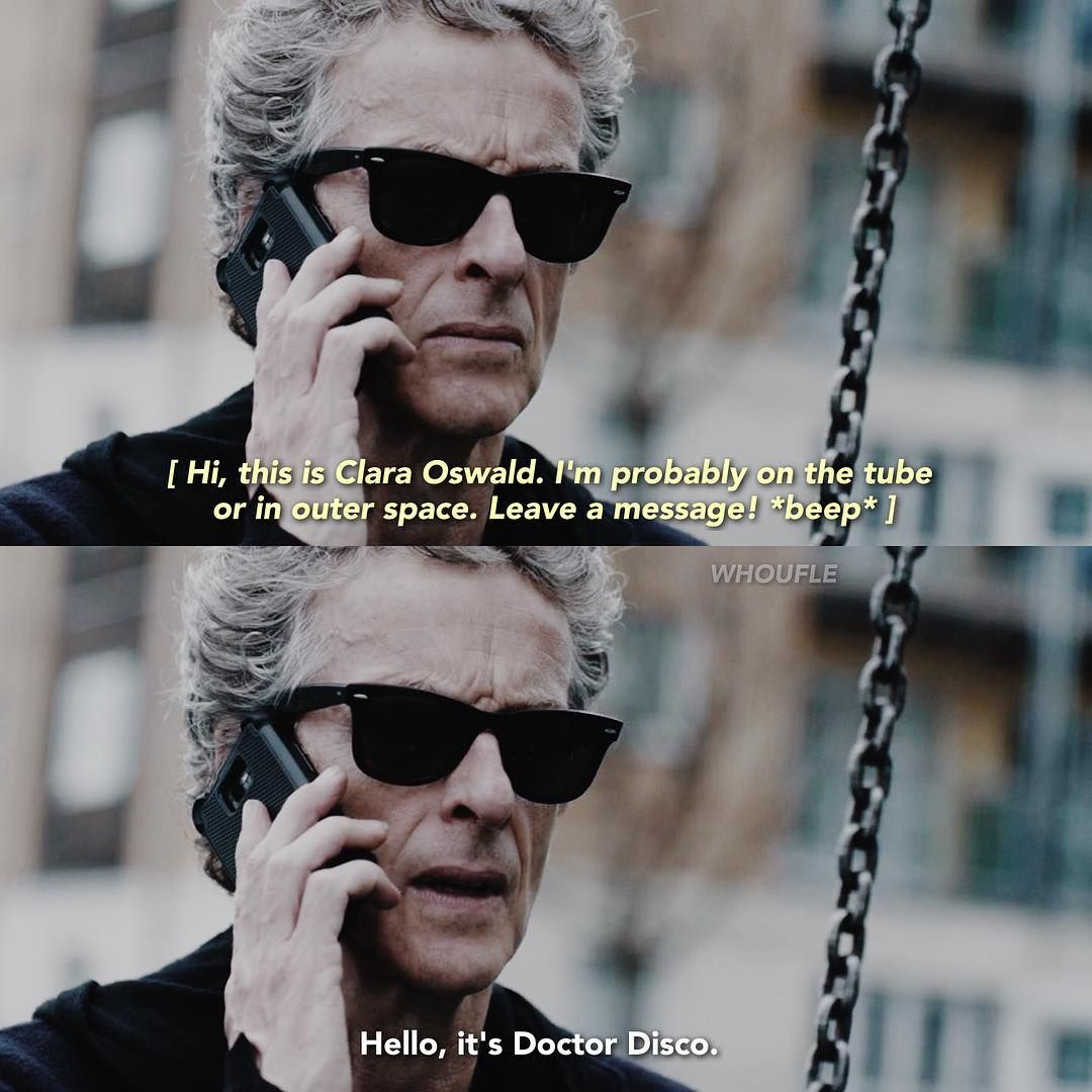 Image result for clara oswald doctor disco quote