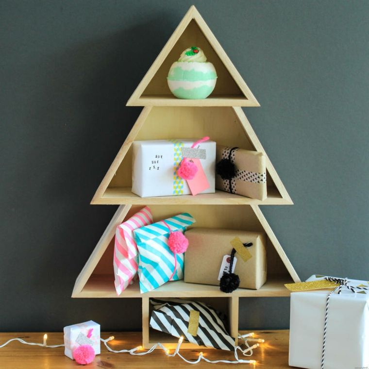 Natale Idea.Come Addobbare L Albero Di Natale Idea Alternativa Con