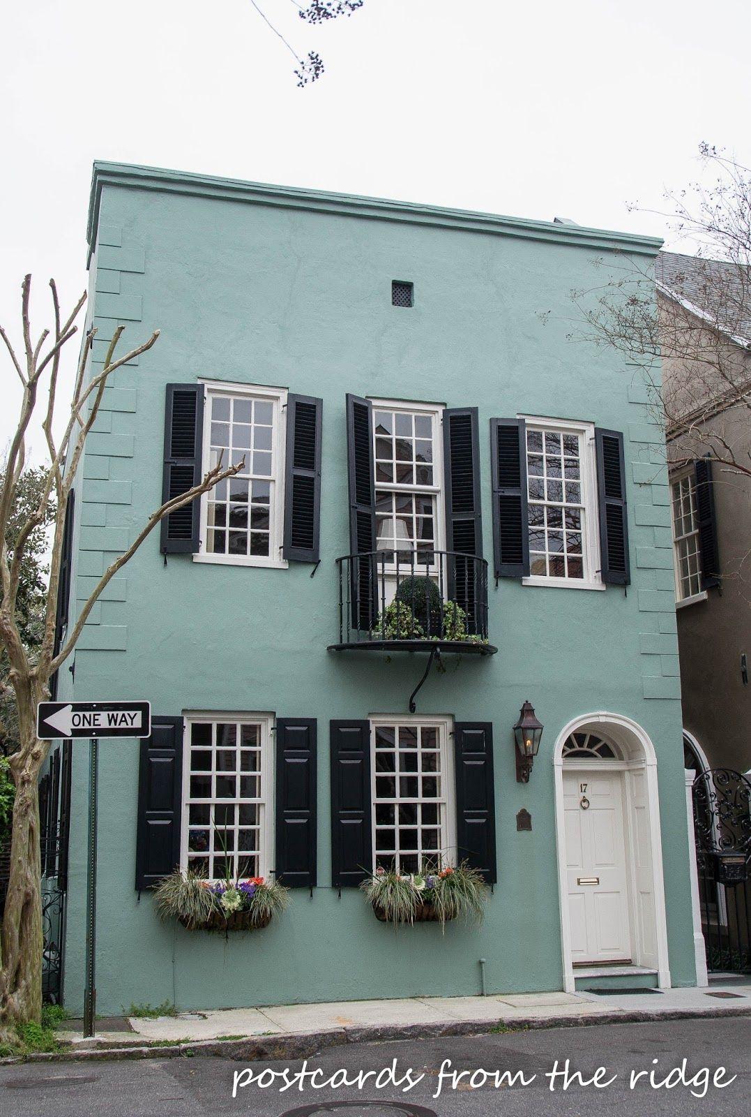 Sherwin Williams Colors Of Historic Charleston Piazza Blue