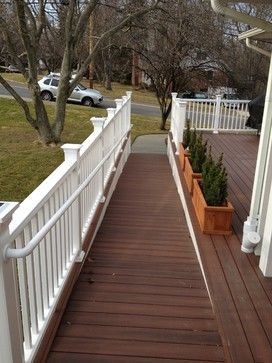 Wheelchair Ramp Design Ideas, Pictures, Remodel, and Decor - page ...