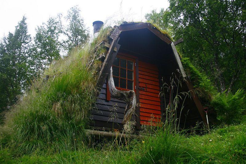 Norwegian Koie (Little Cabin) | Plan B | Pinterest | Cabin, Tiny ...