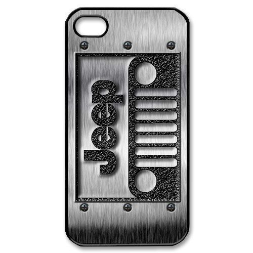 the best attitude 0f47b b8c6e apple iphone case Cool Classic jeep wrangler logo with steel iphone ...