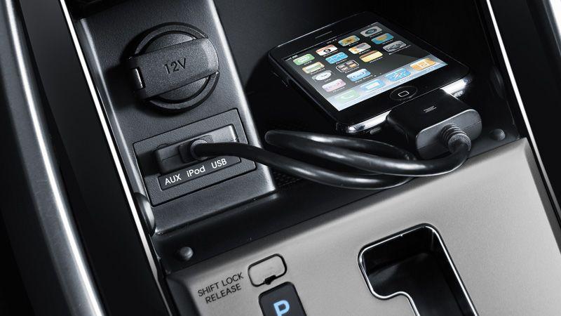 2013 Elantra Sedan Ipod Usb And Auxiliary Input Jacks Elantra Hyundai Elantra Ipod