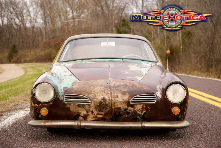 1968 Volkswagen Karmann Ghia Rat Rod One Of The Most Photographed Vw Ghias In The World Purchased From Gas Mo Volkswagen Karmann Ghia Karmann Ghia Volkswagen