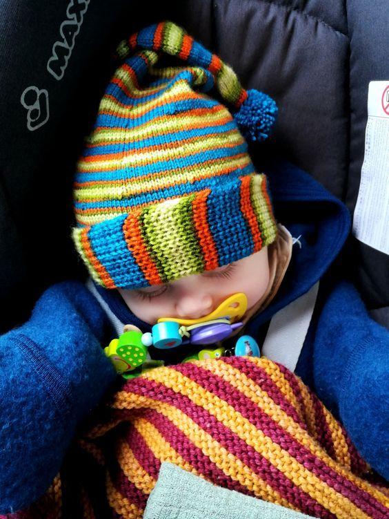 Kindermütze Tobi – Strick – Ideen