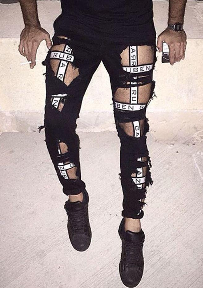 3b6841f9 Legging harness | Men's •FASHION• | Fashion, Mens fashion, Leg harness