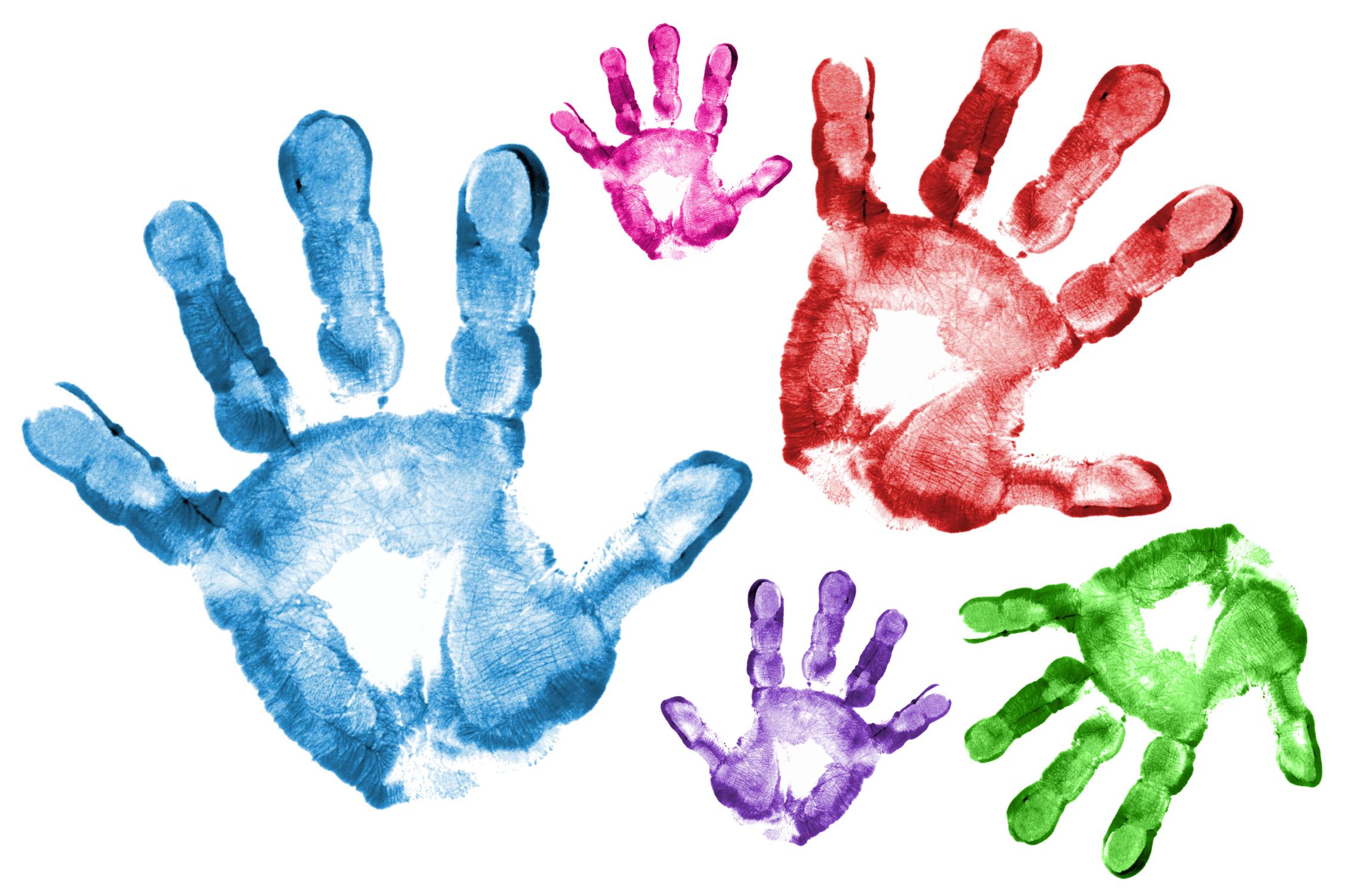 Young Child S Handprint Google Search Childs Handprint Children Hand Print