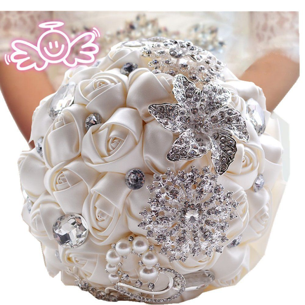 Pavian advanced customization romantic wedding bride holding bouquet explore paper flower bouquets brooch bouquets and more izmirmasajfo