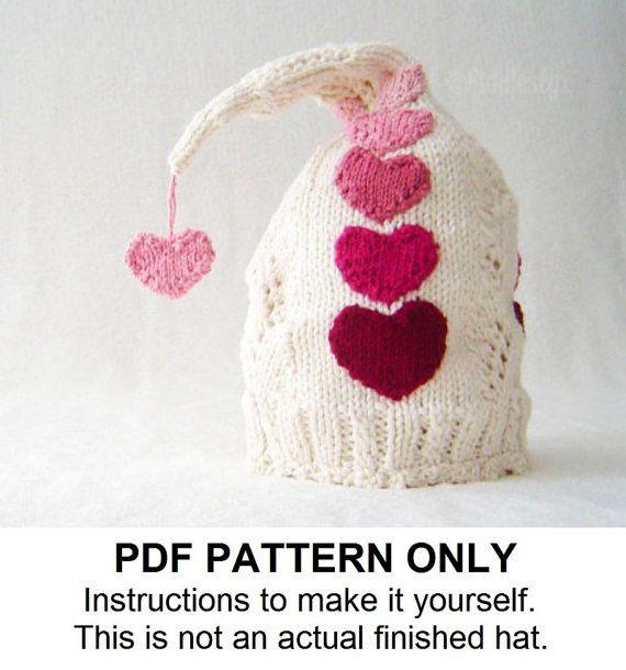 Tejer gorro tejer patrón patrón del sombrero por FiddlestyxStudios ...