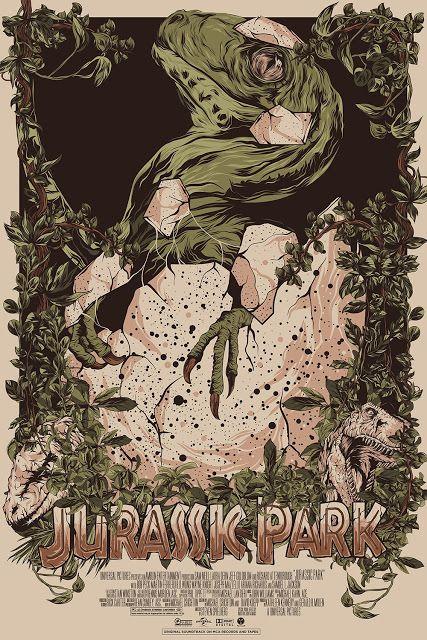 Cool Art: 'Jurassic Park' by Mainger