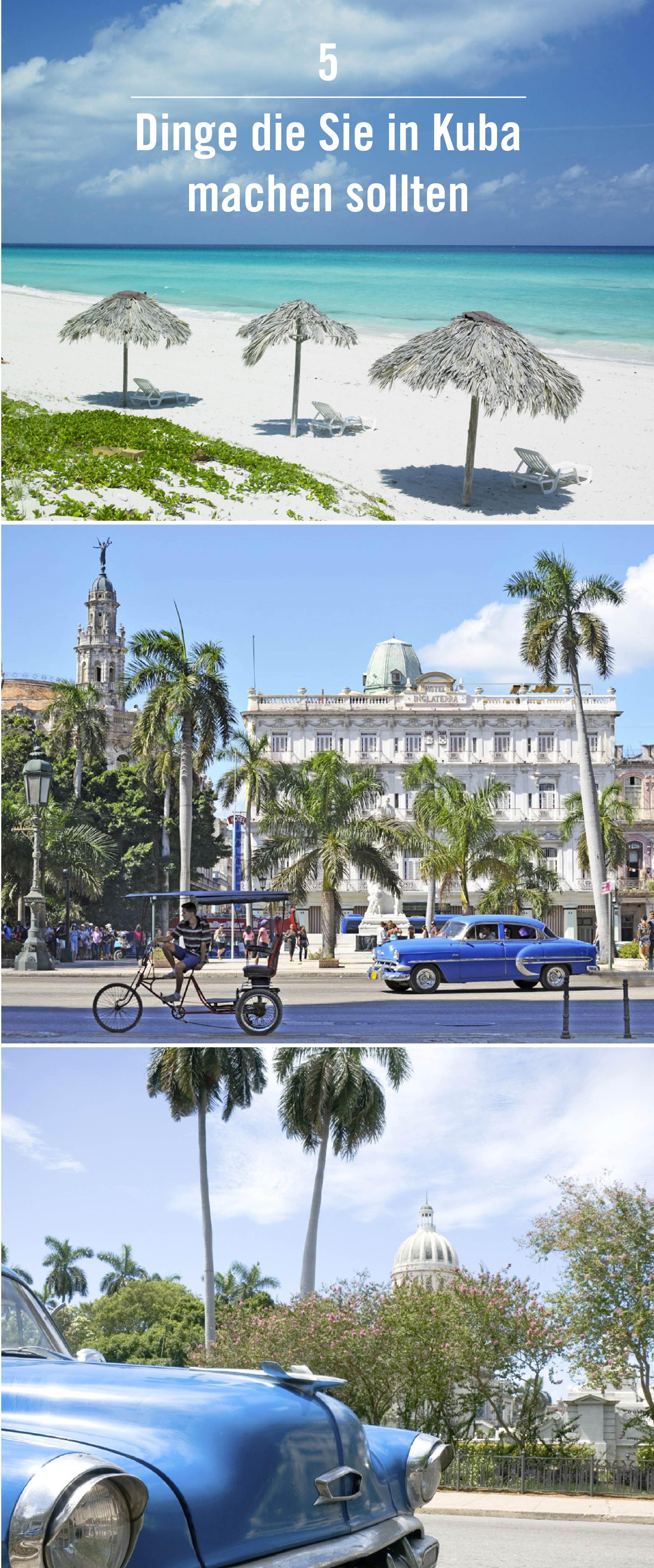Brauchen Sie Hilfe bei der Planung Ihrer nächsten Reise nach Kuba? Diese  Liste mit 5 Dingen, die Sie unbedingt machen sollten, hilft Ihnen dabei. Schnappen Sie sich Ihre Rodenstock Sonnenbrille und los geht's!