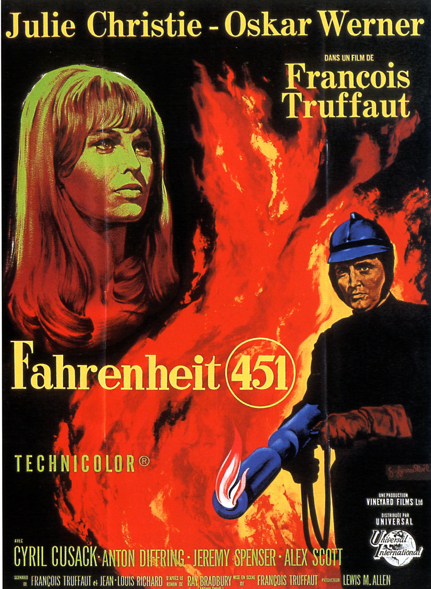 the film fahrenheit 451 essay Fahrenheit 451 is an upcoming 2018 dystopian television film written and directed by ramin bahrani, based on the book of the same name by ray bradbury.