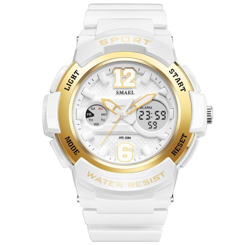 Women's sport simple casual digital & quartz watch #sportswatches