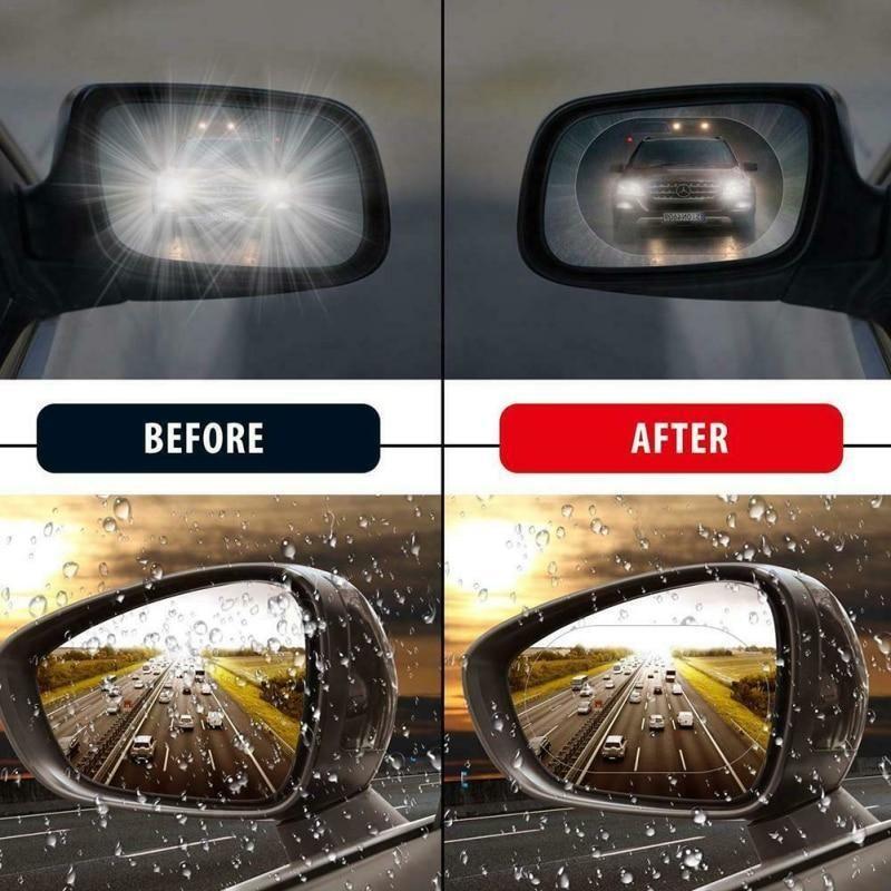 Waterproof Car Side Anti Fog Mirror, Are Mirrors Waterproof