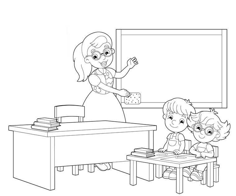 Ausmalbild Schule Grundschuler Im Klassenzimmer Zum Ausmalen Kostenlos Ausdrucken Ausmalen Ausmalbilder Ausmalbild