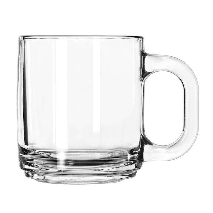 Libbey 5201 10 Oz Clear Glass Coffee Mug In 2019 Kitchen