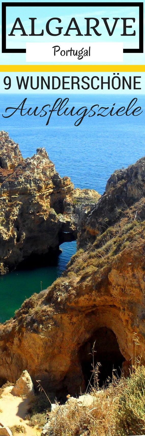 9 wunderschöne Ausflugsziele, die deinen Algarve-Urlaub unvergesslich machen #portugal