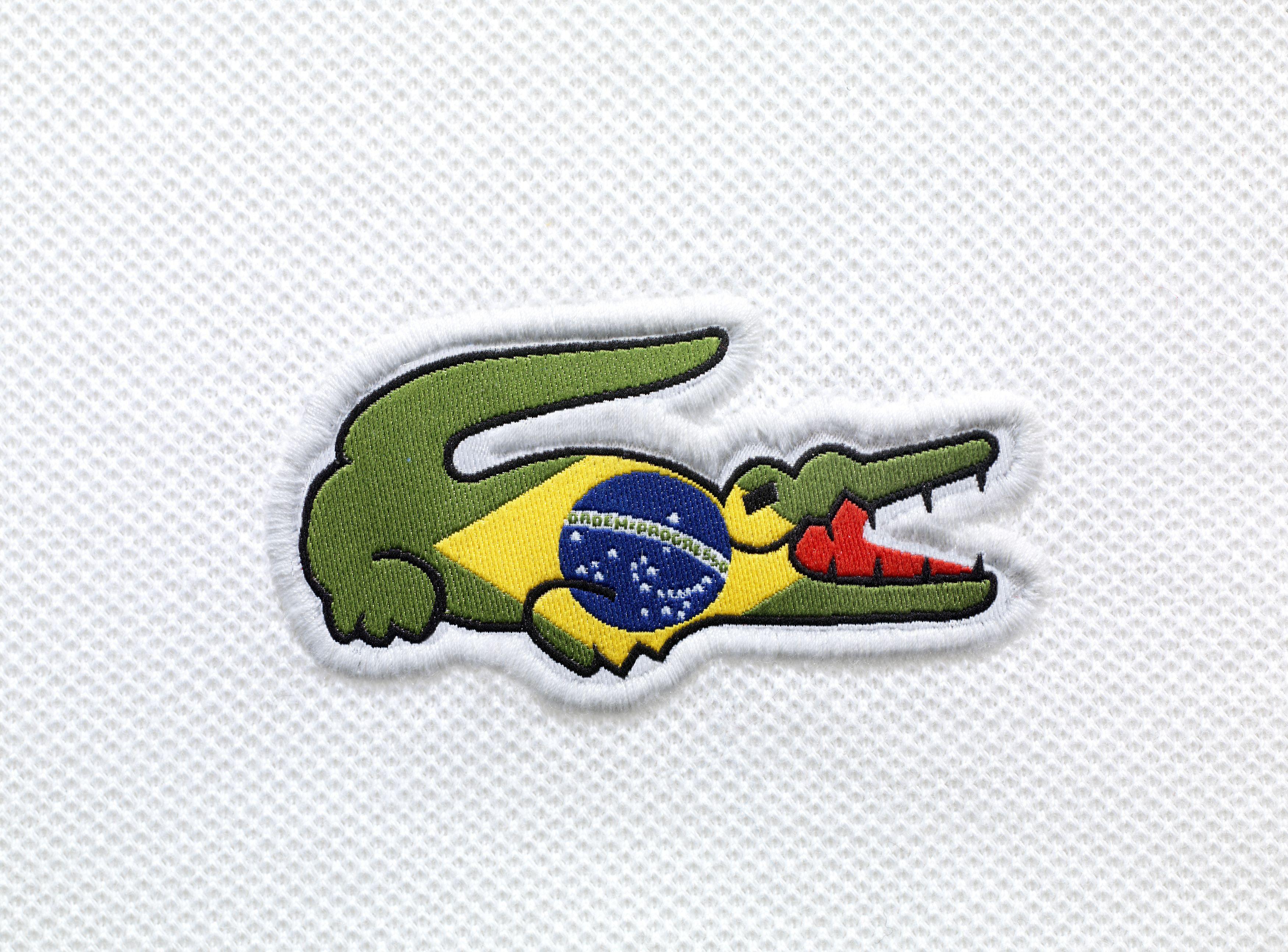 a7386b626ccd Lacoste Croco Flag Polo Collection - Brazil