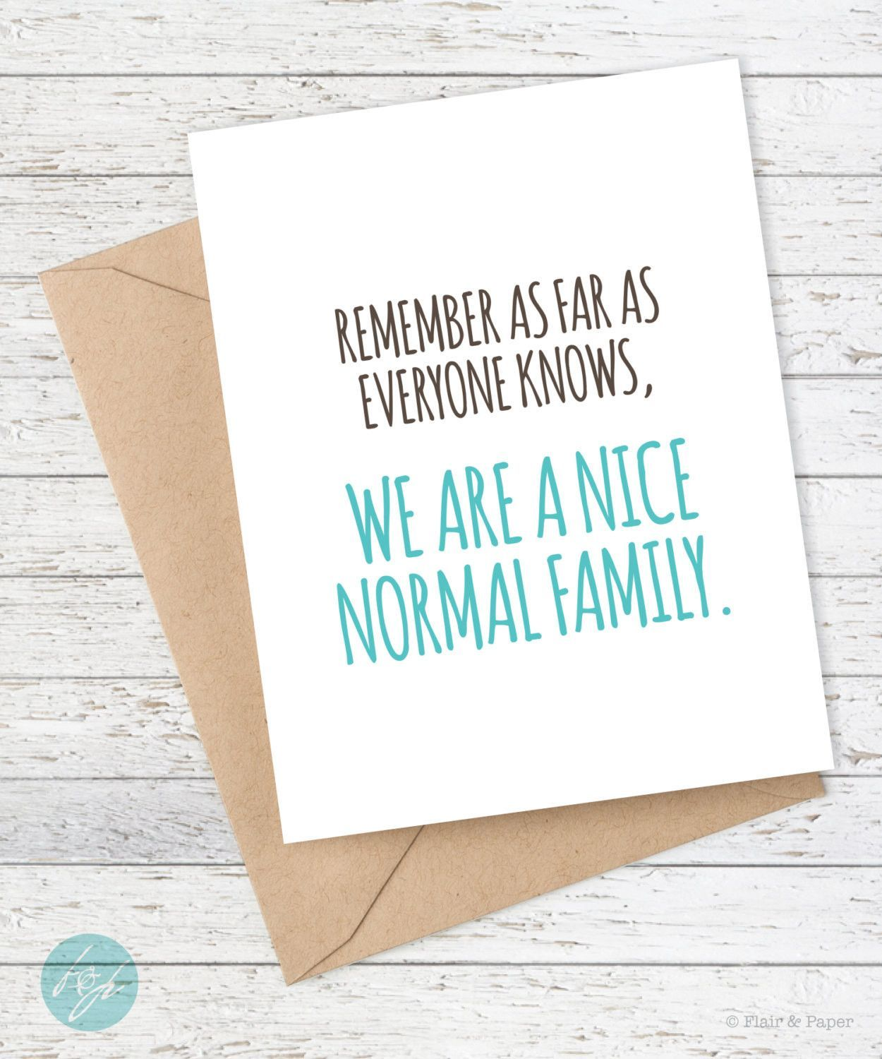 Funny Card – Remember As Far As Everyone Knows