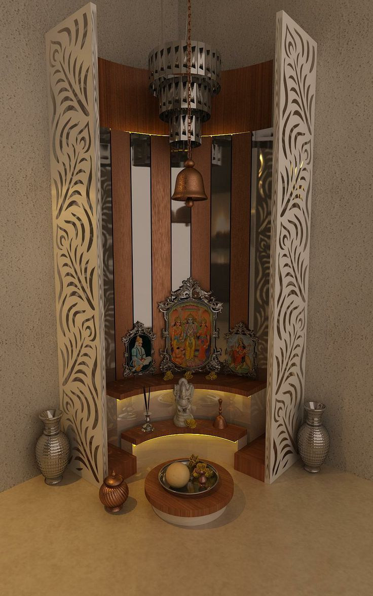 Mandir Designs In Living Room Best Pooja Room Design By Interior Designer Kamlesh Maniya