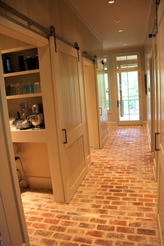 Ranch Home Remodel Annie Selke Ranch House Makeover Home Redesign For More Information Please Visit Our Website Custom Home Designs, Custom  Homes, Brick Flooring