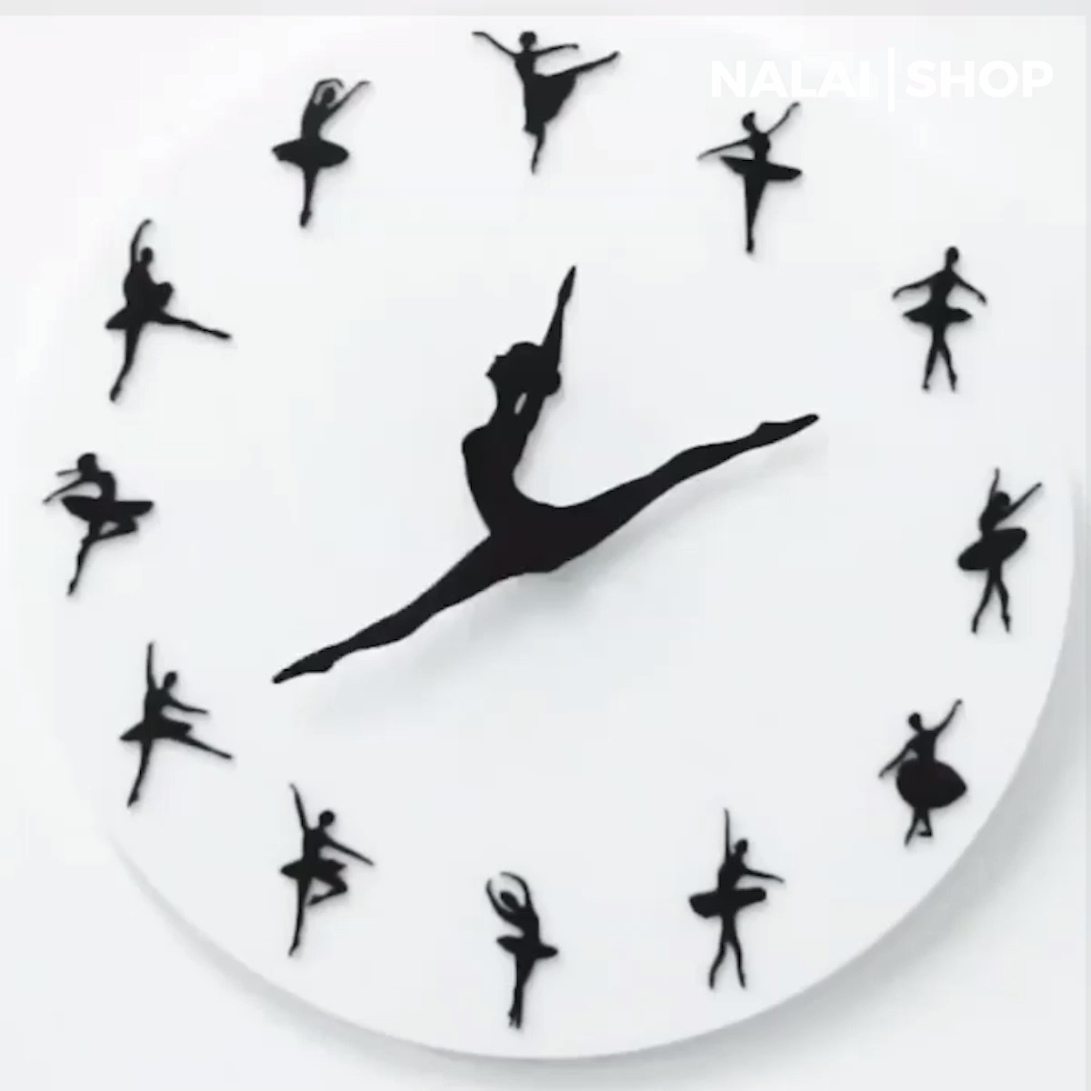 Ballet Clock Danceandmovement This Premium Ballet Clock Always Has Time For Dancing The Ballerina S Legs Represent The Clock S Hands Clock Diy Clock Ballet