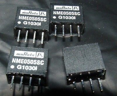 4 x Murata NME0505SC 5V DC to DC convertor 5V 200mA isolated