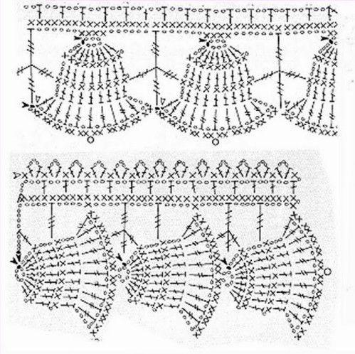 Luty Artes Crochet: barrados de natal | Ganchillo 3 | Pinterest ...
