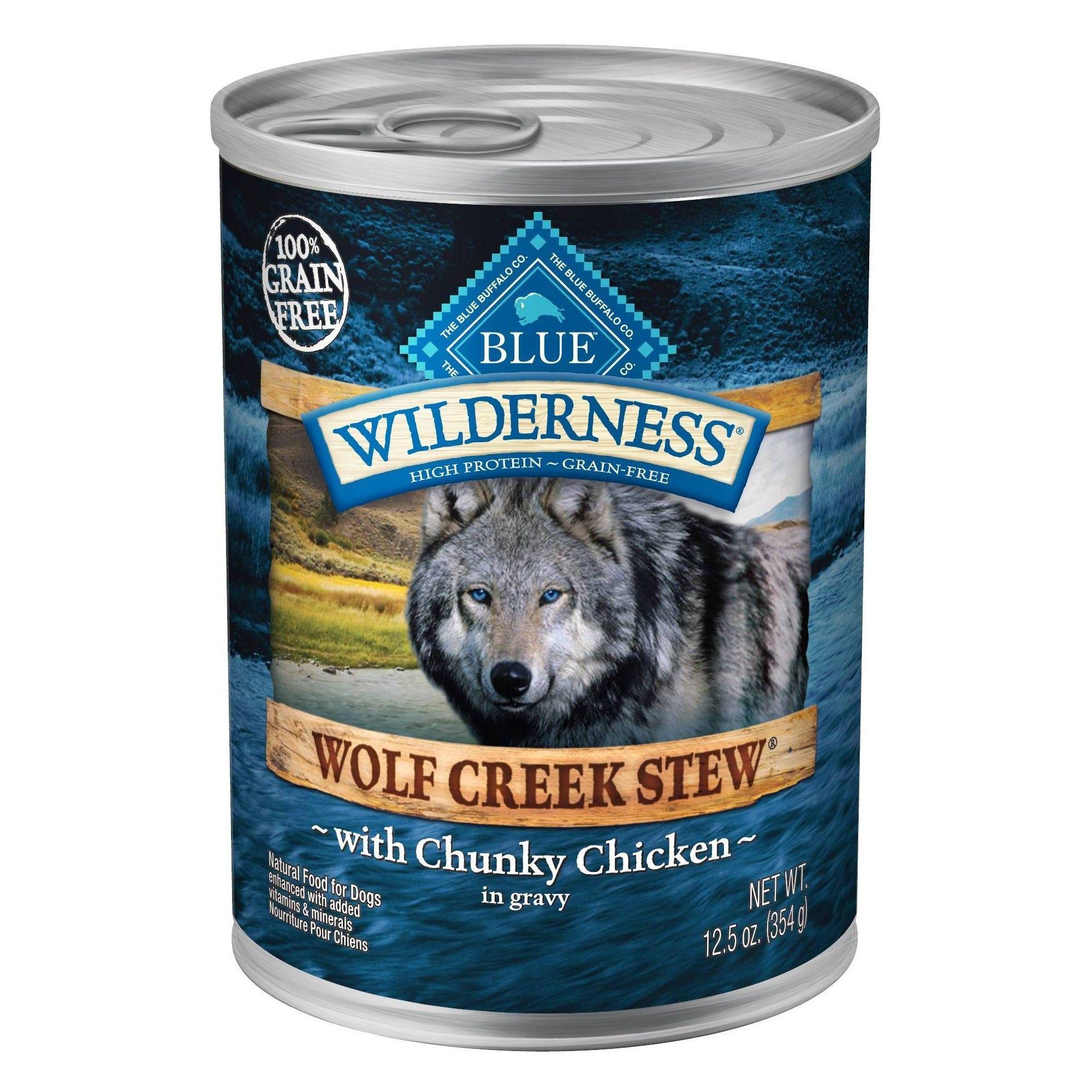 Blue Buffalo Wilderness 100 Grain Free Chunky Chicken Stew In