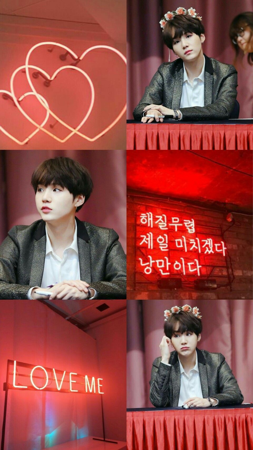 Min Yoongi Aesthetic Wallpaper Red Kpop 0 T Bts