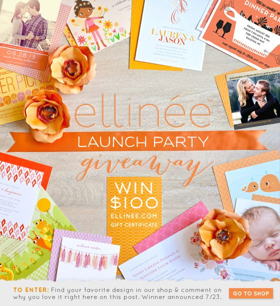 Wedding Invitation Giveaway: Ellinée Launch Party Giveaway! (con Imágenes)